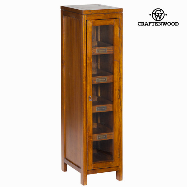 Display Stand Mindi wood (4 shelves) (120 x 40 x 30 cm) - Serious Line Collection by Craftenwood