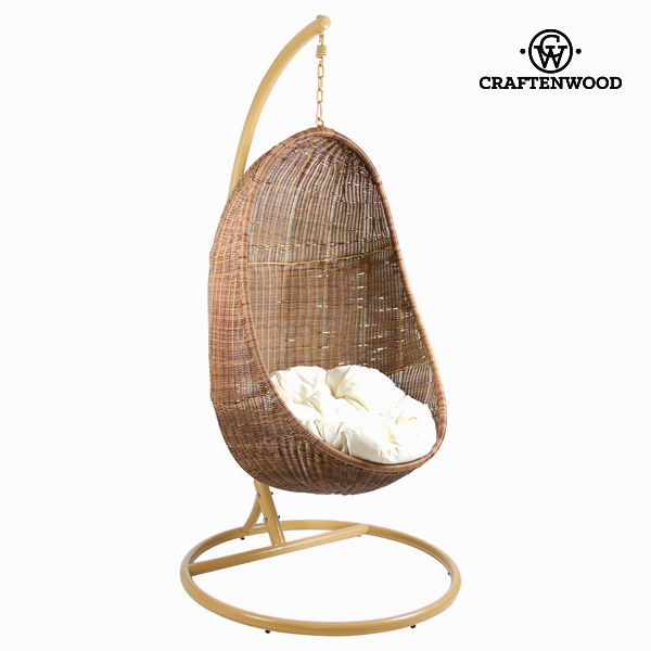 Hanging basket seat Synthetic rattan (132 x 88 x 78 cm) by Craftenwood