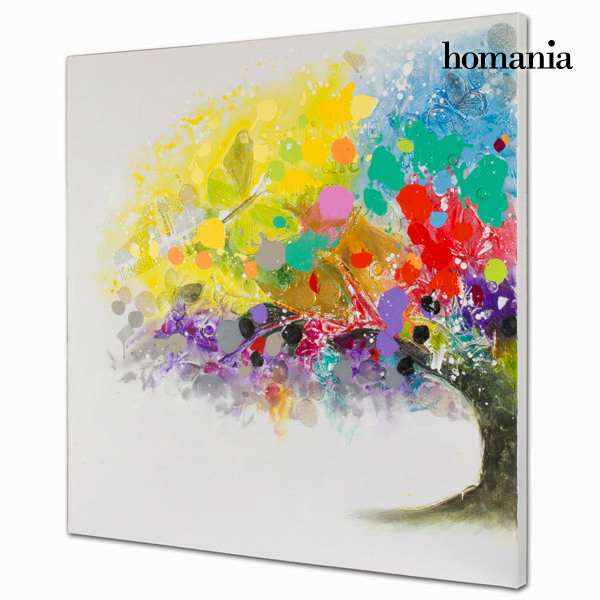 Tree colour oil painting  by Homania