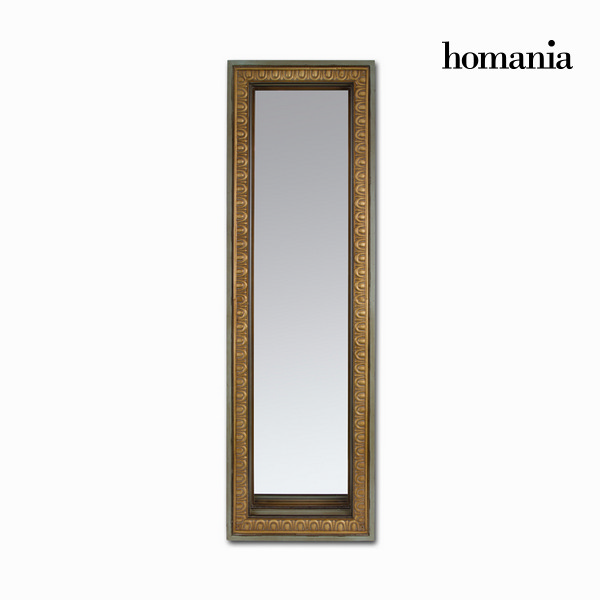 Mirror Fir wood Rectangular (74 x 193 x 6 cm) by Homania