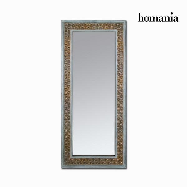 Mirror Fir wood Rectangular Brown (84 x 6 x 180 cm) by Homania