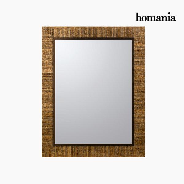 Golden frame mirror by Homania