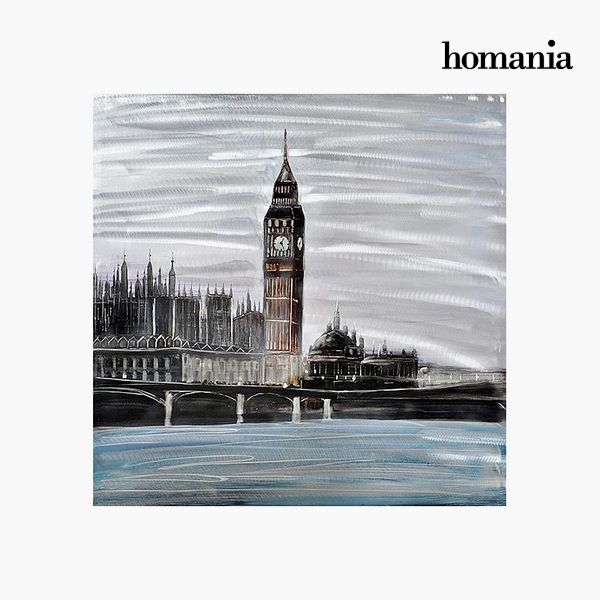 Oil Painting London (100 x 100 cm) by Homania