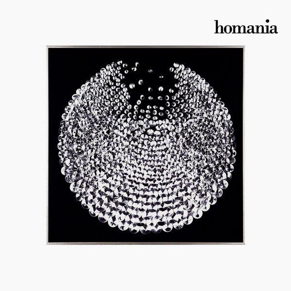 Acrylic Painting Diamond (91 x 91 cm) by Homania