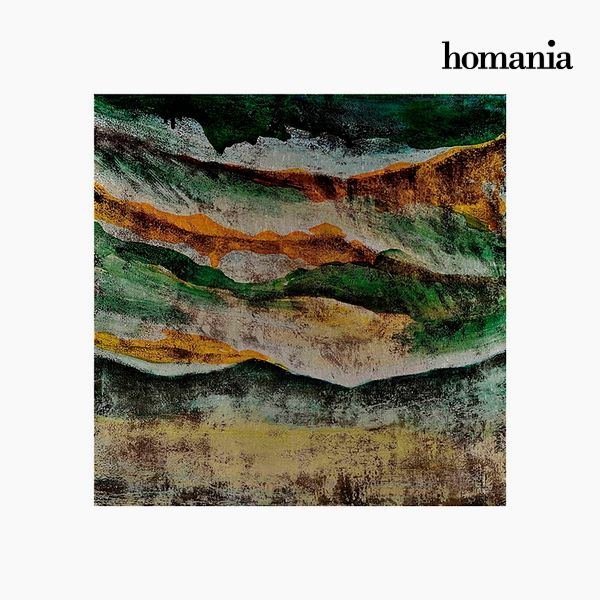 Acrylic Painting Abstract (63 x 63 cm) by Homania