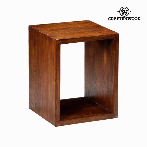 Wooden rectangular shelf case - Serious Line Collection by Craftenwood