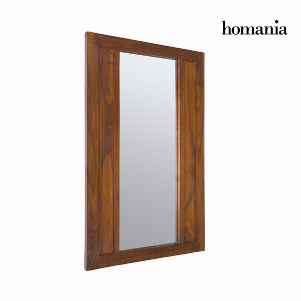 Mirror Mindi wood (110 x 70 cm) - Chocolate Collection by Homania