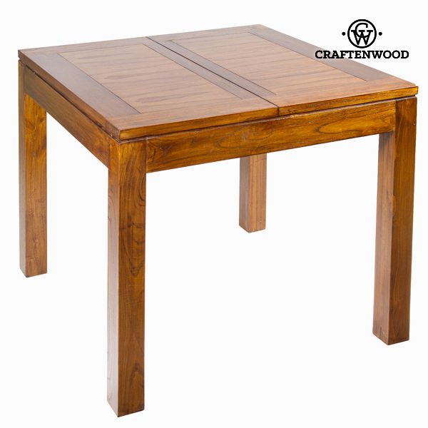 Expandable table Mindi wood (90 x 90 x 79 cm) - Chocolate Collection by Craftenwood