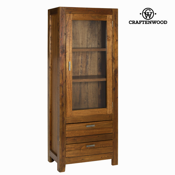Display Cabinet With Glass Door Craftenwood (180 x 70 x 40 cm) - Be Yourself Collection