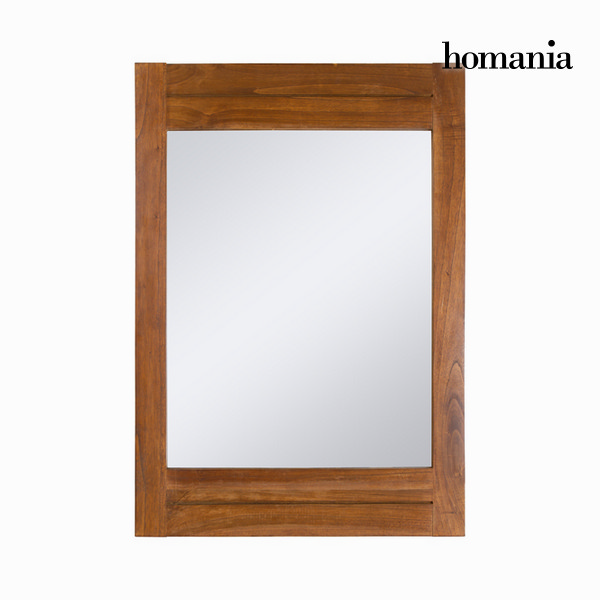 Mirror Mindi wood (100 x 70 cm) - Be Yourself Collection by Homania