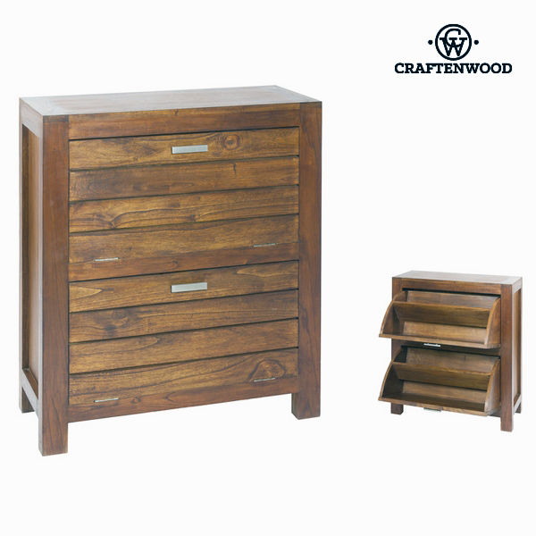 Shoe Rack (8 pairs) Wood - Be Yourself Collection by Craftenwood