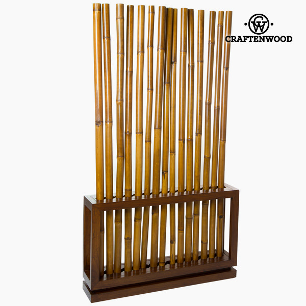 Walnut coloured bamboo stand by Craftenwood