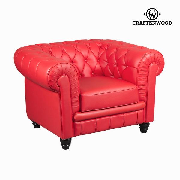 Sofa Polyskin Red (105 x 86 x 69 cm) by Craftenwood
