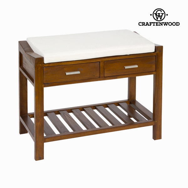 Bench with chair and cushion - Franklin Collection by Craftenwood