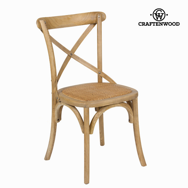 Chair Elm wood (45 x 42 x 88 cm) by Craftenwood