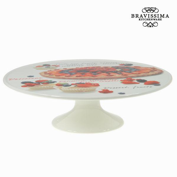 Serving Dish Porcelain (33 x 33 x 11 cm) - Kitchen's Deco Collection by Bravissima Kitchen