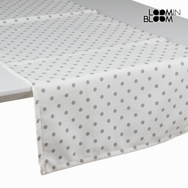 Natural grey table runner - Little Gala Collection by Loom In Bloom
