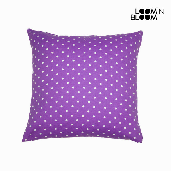 Purple polka dot cushion - Little Gala Collection by Loom In Bloom
