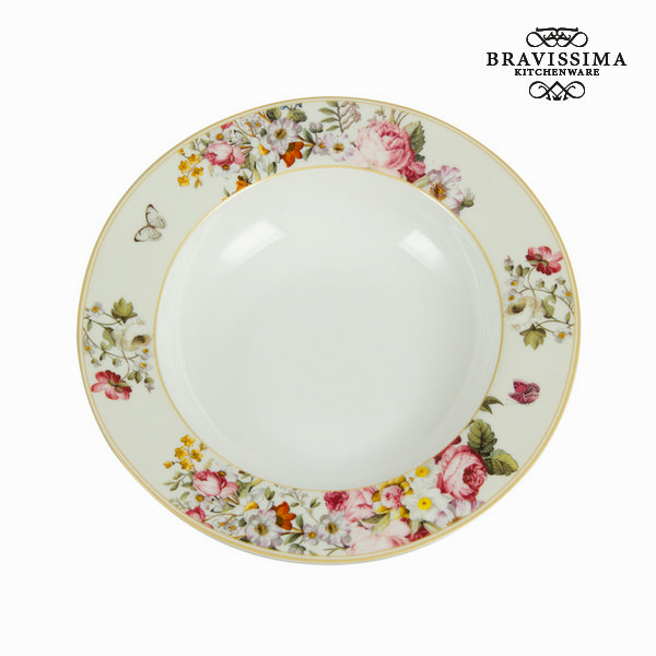 White bloom bowl - Kitchen's Deco Collection by Bravissima Kitchen