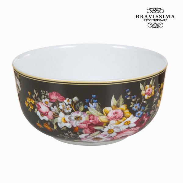 Bloom black porcelain bowl - Kitchen's Deco Collection by Bravissima Kitchen