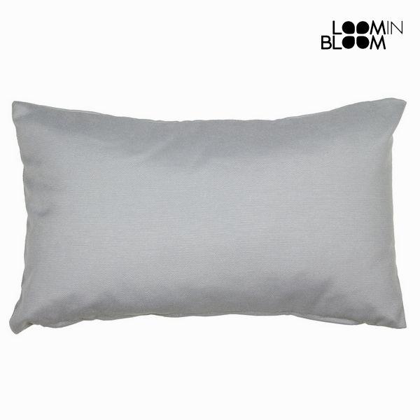 Cushion Grey (50 x 30 x 12 cm) by Loom In Bloom