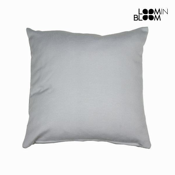 Cushion Grey (45 x 12 x 45 cm) by Loom In Bloom