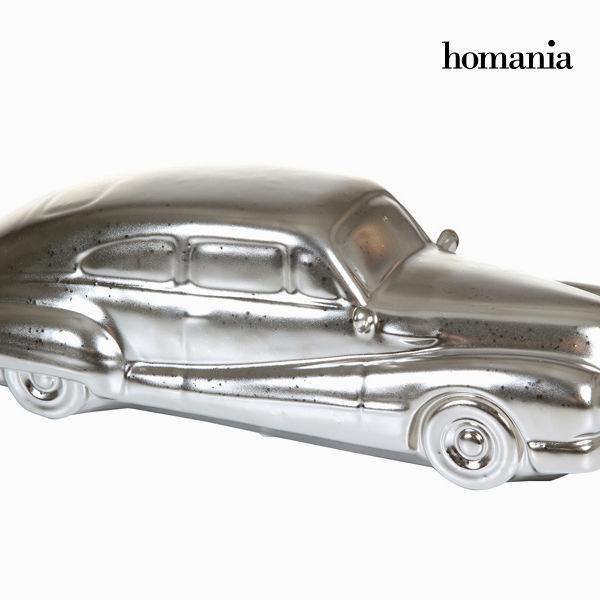 Decorative Figure Ceramic Silver (34 x 13 x 10 cm) by Homania