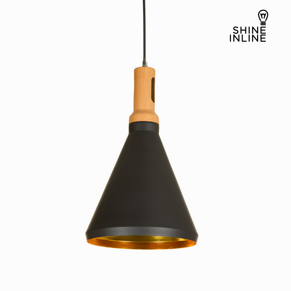 Ceiling Light Material Aluminium Negro by Shine Inline