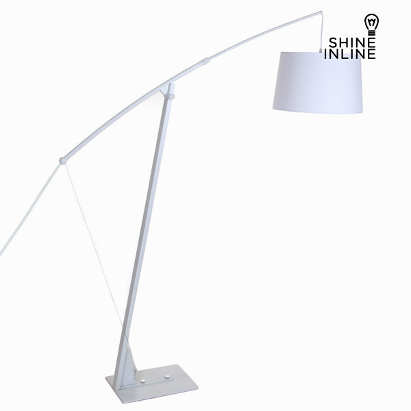 Floor Lamp Material Metal Blanco by Shine Inline