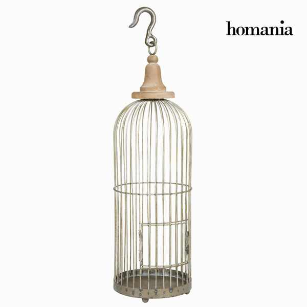 Decorative grey metal cage - Art & Metal Collection by Homania