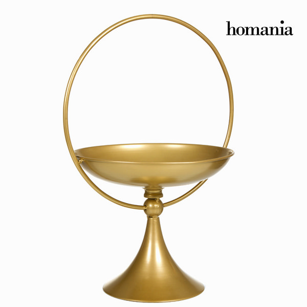 Centerpiece Metal (53 x 37 x 31 cm) - Art & Metal Collection by Homania