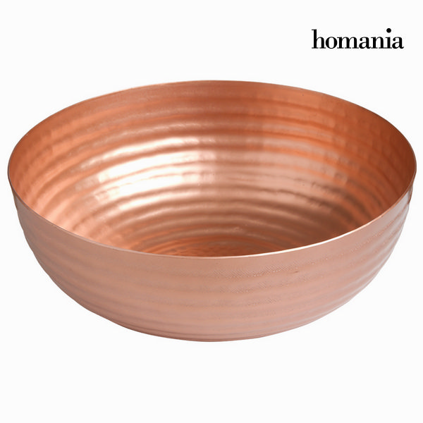 Round copper bowl - New York Collection by Homania