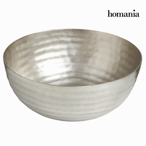 Round silver bowl  - New York Collection by Homania