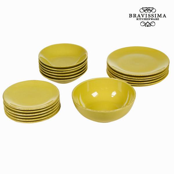 Tableware China crockery (19 pcs) - Kitchen's Deco Collection by Bravissima Kitchen