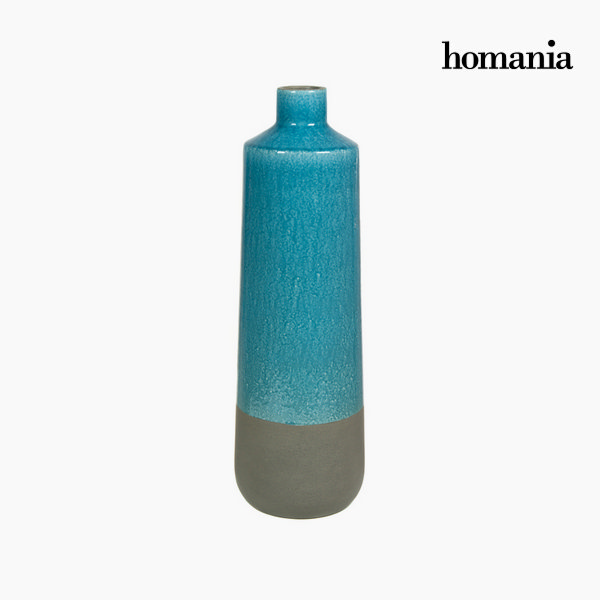 Gray and turquoise ceramic vas by Homania