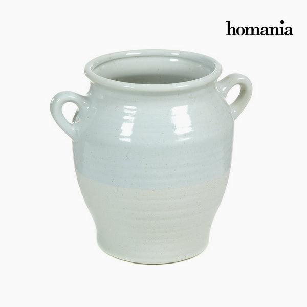 Ceramic vase with handles by Homania