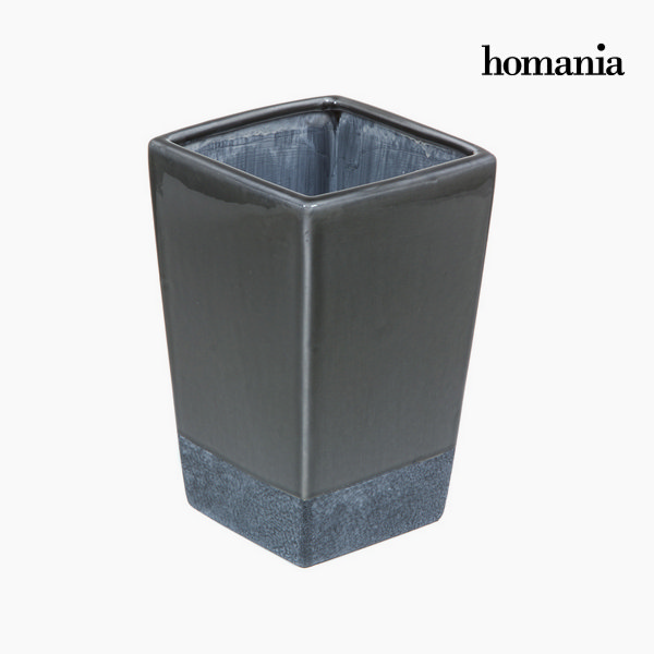 Ceramic vase gray by Homania