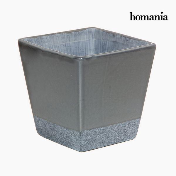 Planter Ceramic Grey by Homania