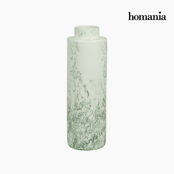 White ceramic vase gray by Homania