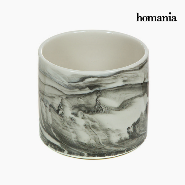 Centerpiece Ceramic White (15,5 x 15,5 x 14 cm) by Homania