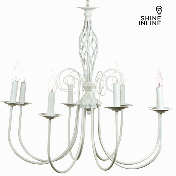 Ceiling Light White (160 x 75 x 75 cm) by Shine Inline