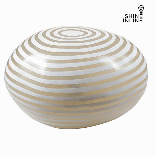 Lamp Fibreglass White (48 x 43 x 27 cm) by Shine Inline