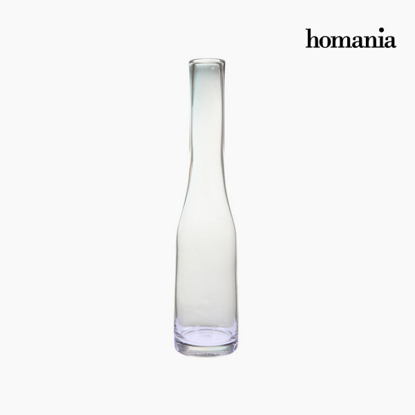 Vase Crystal Transparent (10 x 10 x 48 cm) by Homania