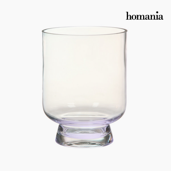 Vase Crystal Transparent (18 x 18 x 24 cm) by Homania