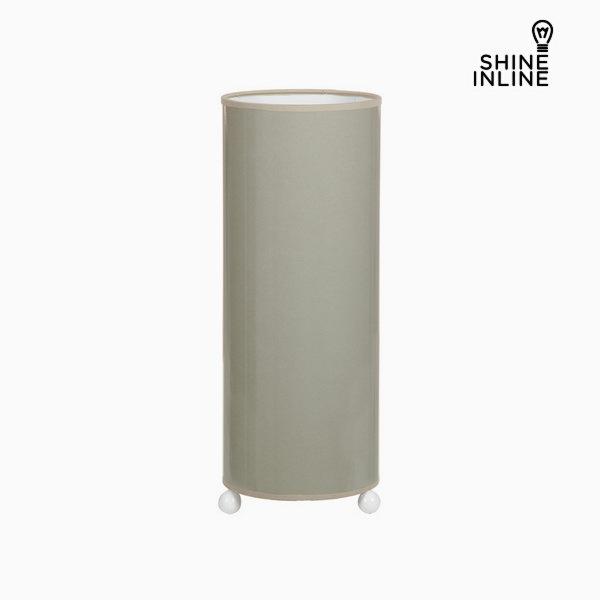 Ceramic table lamp gray by Shine Inline
