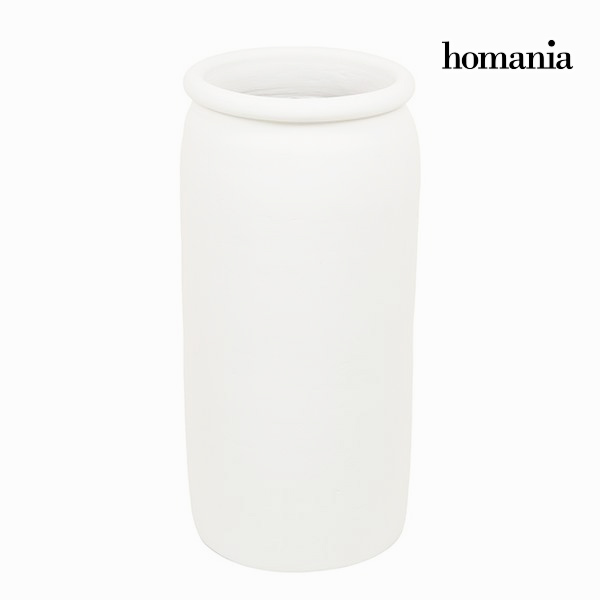 Vase White - Ellegance Collection by Homania
