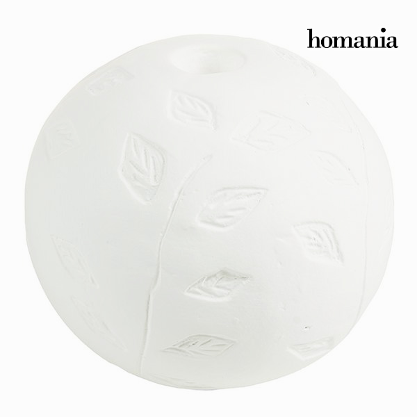 Circular Candlebra White - Be Yourself Collection by Homania