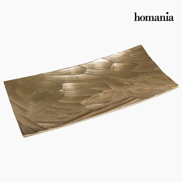 Centerpiece Rectangular Champagne - New York Collection by Homania