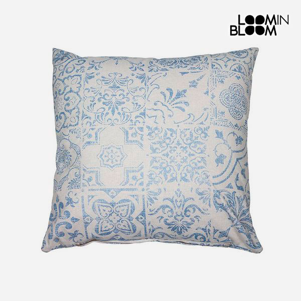 Cushion Blue (60 x 60 cm) - Queen Deco Collection by Loom In Bloom