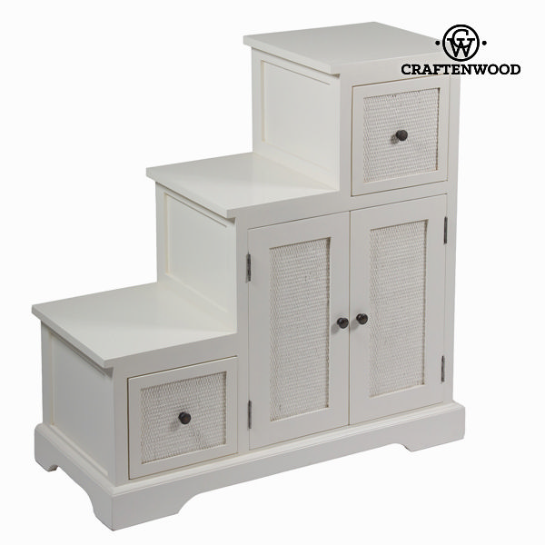 Occasional Furniture Mindi wood White (88 x 37 x 90 cm) - Let's Deco Collection by Craftenwood